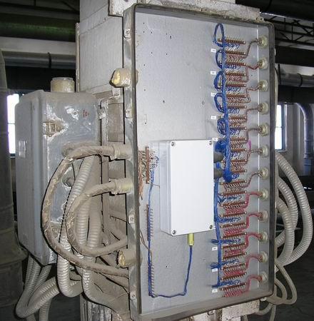 Пример монтажа БИ-12 в РШ